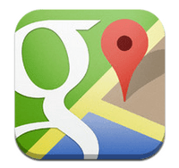 L'application de Google Maps