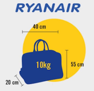 bagages ryanaire